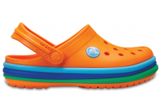 CB Rainbow Band Clog K Blazing Orange C6