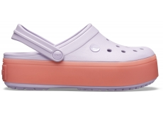 Crocband Platform Clog Lavender/Melon M4W6