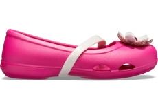 Crocs Lina Charm Flat K Candy Pink C10