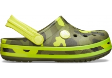 Crocband MultiGraphic Clog K Citrus C10