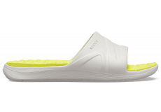 Reviva Slide Pearl White/Citrus