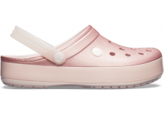 Crocband Ice Pop Clog Barely Pink M4W6