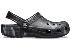 Classic Seasonal Graphic Clog Black/Grey M10W12