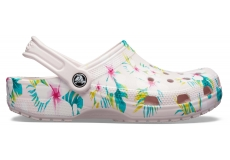 Classic Seasonal Graphic Clog Barely Pink/Floral M4W6