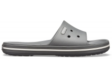 Crocband III Slide Slate Grey/White M10/W12