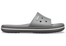 Crocband III Slide Slate Grey/White M10/W12