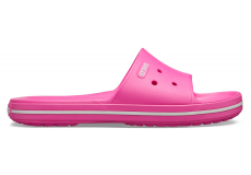 Crocband III Slide Electric Pink/White M4W6