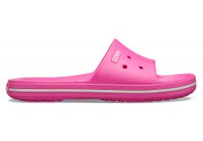 Crocband III Slide Electric Pink/White