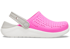 LiteRide Clog K Electric Pink/White C10