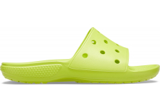 Classic Crocs Slide Lime Punch