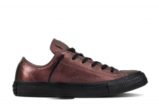 Hnědé Converse Chuck Taylor All Star Iridescent Leather Ox
