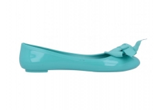 Jelly Ballerina Solid Flake Turquoise