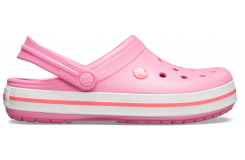 Crocband Pink Lemonade/White