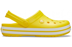 Crocband Lemon/White