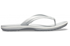 Crocband Flip Light Grey/White M10W12