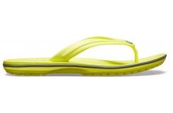 Crocband Flip Citrus/Slate Grey M10W12