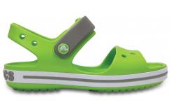 Crocband Sandal Kids - Volt Green/Smoke C6