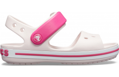 Crocband Sandal Kids Barely Pink/Candy Pink C10