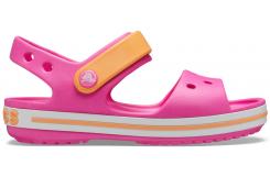 Crocband Sandal Kids Electric Pink/Cantaloupe C10