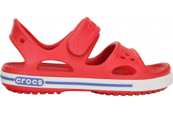 Crocband II Sandal Red/White C4