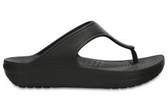 Crocs Sloane Platform Flip - Black W6