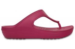 Crocs Sloane Platform Flip W - Berry W6