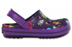 Crocband Galactic Clog K Purple/Neon Purple