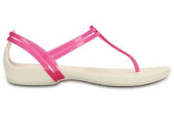 Crocs Isabella T-strap - Berry/Oyster W7