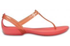Crocs Isabella T-strap - Coral W6