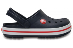Crocband Clog K - Navy/Red C7