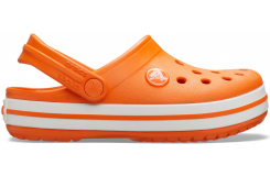 Crocband Clog K Orange C10
