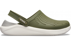 LiteRide Clog Army Green/White