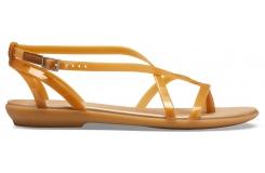 Isabella Gladiator Sandal W Dark Gold/Gold W6