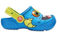 Crocs Fun Lab Clog K Ocean/Tennis Ball Green