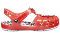 Drew x Crocs Isabella Sandal K Tomato/White C8