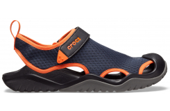 Swiftwater Mesh Deck Sandal M Navy/Tangerine