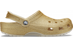 Classic Glitter Clog Light Gold