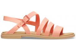 Crocs Tulum Sandal W Grapefruit/Tan