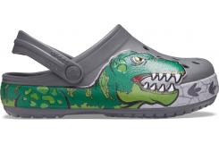 Crocs FL Dino Band Lights Cg K Slate Grey