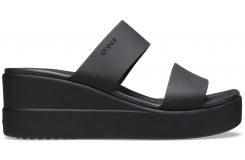 Crocs Brooklyn Mid Wedge Black/Black