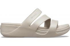 Crocs Monterey Wedge W Platinum