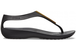 Crocs Serena Metallic Bar Fp W Gold/Black