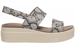 Crocs Brooklyn Low Wedge W Multi/Stucco
