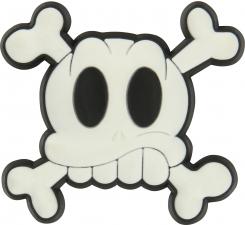 Odznáček Jibbitz - Skull & Cross Bones