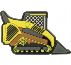 Odznáček Jibbitz - Bulldozer Truck