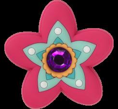 Odznáček Jibbitz - Rhinestone Citrus Flower