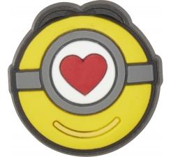 Odznáček Jibbitz - Minions Stuart Love Icon