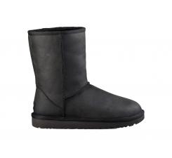 Boty UGG Classic Short Leather Black