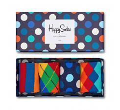 Dárkový box ponožek Happy Socks Mix - 4 páry