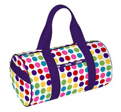Round Shoulder Duffle - Wonder Dot